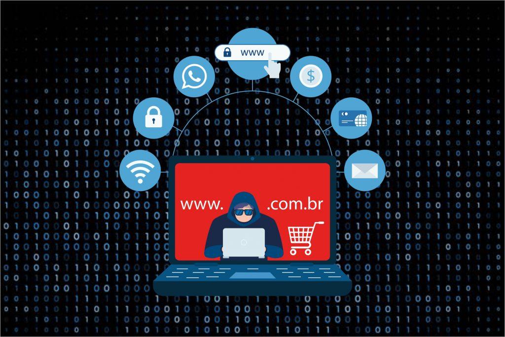 Sites de comércio eletrônico fraudulentos