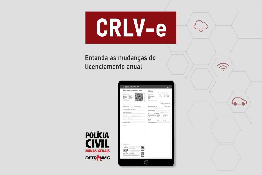 CRLV-e – Entenda as mudanças do licenciamento anual.