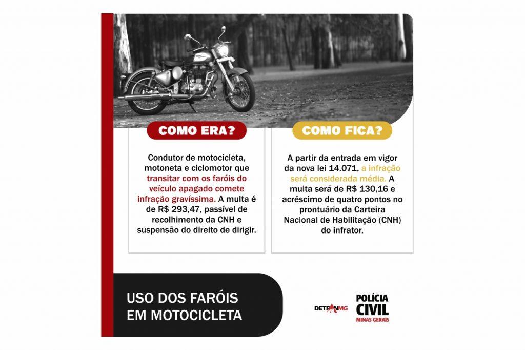 Uso dos Faróis em Motocicletas